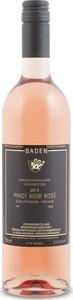 Winzergenossenschaft Königschaffhausen Pinot Noir Rosé 2015, Qba Königschaffhauser Vulkanfelsen Bottle