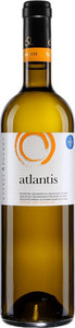 Atlantis Dry White 2015, Pgi Cyclades, Santorini Bottle