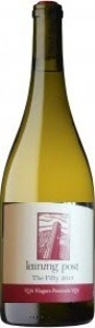 Leaning Post Chardonnay The Fifty 2014, VQA Niagara Peninsula Bottle
