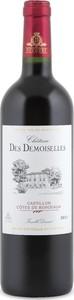Château Des Demoiselles 2011, Ac Côtes De Bordeaux   Castillon Bottle