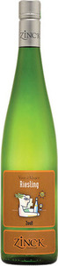 Domaine Zinck Portrait Series Riesling Bottle