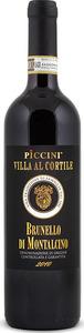 Piccini Villa Al Cortile Brunello Di Montalcino 2010 Bottle