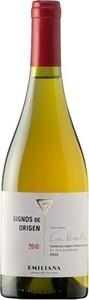 Emiliana Signos De Origen Chardonnay / Marsanne / Viogner / Roussanne (Bio) 2015 Bottle