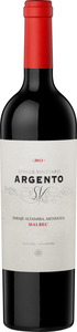 Argento Single Vineyard Paraje Altamira Malbec 2014 Bottle