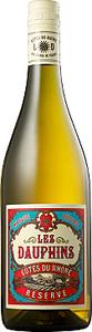Les Dauphins Blanc 2014, Cotes Du Rhone Reserve Bottle