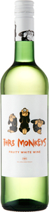 Thr3 Monkeys White 2015 Bottle
