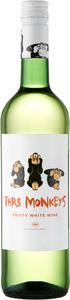 Thr3 Monkeys White 2015 Bottle