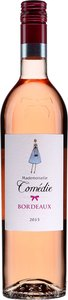 Les Grands Chais Mademoiselle Comédie 2015 Bottle