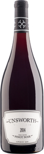 Unsworth Vineyards Pinot Noir 2014, Cowichan Valley, Vancouver Island Bottle