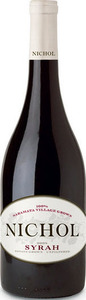 Nichol Vineyards Syrah 2013, Naramata, Okanagan Valley Bottle
