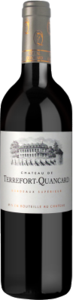 Château Terrefort Quancard 2010, Bordeaux, France Bottle