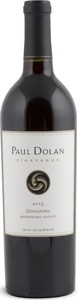 Paul Dolan Zinfandel 2013, Mendocino County, Made With Organically Grown Grapes Bottle