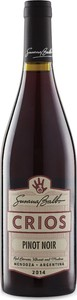 Crios Pinot Noir 2014, Uco Valley Bottle