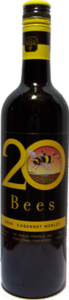 20 Bees Cabernet Merlot 2014, Ontario VQA Bottle