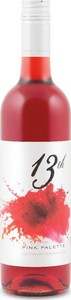 13th Street Pink Palette Rosé 2015, VQA Niagara Peninsula Bottle