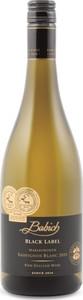 Babich Black Label Sauvignon Blanc 2014, Marlborough, South Island Bottle
