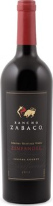 Rancho Zabaco Sonoma Heritage Vines Zinfandel 2014, Sonoma County Bottle