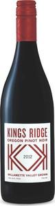 Kings Ridge Pinot Noir 2014, Willamette Valley Bottle