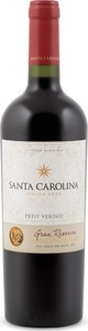 Santa Carolina Gran Reserva Petit Verdot 2013, Rapel Valley Bottle