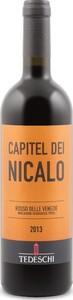 Tedeschi Capitel Dei Nicalo 2014, Igt Rosso Delle Venezie Bottle
