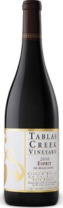 Tablas Creek   Esprit De Tablas   Paso Robles 2012 Bottle