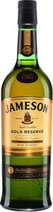 Jameson Gold Reserve Irish Whiskey Bottle