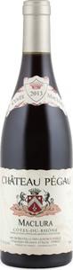 Château Pégau Cuvée Maclura 2014, Côtes Du Rhône Bottle