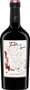 Lazio Syrah   Falesco Tellus 2014 Bottle