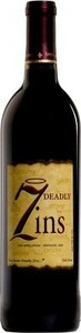 7 Deadly Zins Old Vine Zinfandel 2013, Lodi Bottle