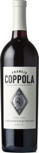 Francis Coppola Diamond Collection Ivory Label Cabernet Sauvignon 2014 Bottle