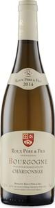 Domaine Roux Père & Fils Bourgogne Chardonnay 2014, Ac Bottle