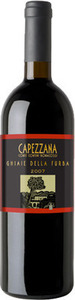 Capezzana Ghiaie Della Furba 2009, Igt Toscana Bottle