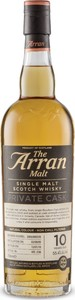 The Arran Malt Private Cask Single Malt, Limited Edition, Matured In Bourbon Cask (700ml) Bottle