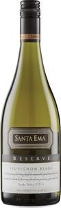 Santa Ema Reserva Sauvignon Blanc 2014, Leyda Valley Bottle