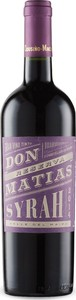 Cousiño Macul Don Matias Reserva Syrah 2014, Maipo Valley Bottle