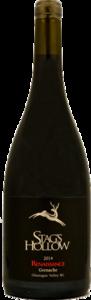 Stag's Hollow Renaissance Grenache 2014, Okanagan Falls, Okanagan Valley, Bc Bottle
