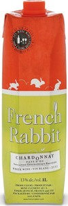 French Rabbit Chardonnay 2014, Pays D'oc (1000ml) Bottle