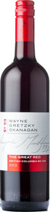 Wayne Gretzky Okanagan No.99 The Great Red 2011, British Columbia Bottle