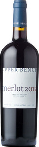 Upper Bench Estate Merlot 2012, BC VQA Okanagan Valley Bottle