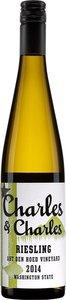Charles & Charles Riesling Yakima Valley Washington State 2014 Bottle