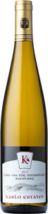 Karlo Estates Lake On The Mountain Riesling 2015, Prince Edward County Bottle