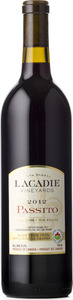 L'acadie Vineyards Passito 2013, Annapolis Valley Bottle