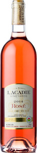 L'acadie Vineyards Rose 2015, Nova Scotia Bottle