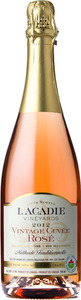 L'acadie Vintage Cuvee Rose 2013, Annapolis Valley Bottle