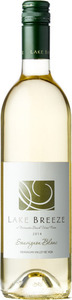 Lake Breeze Sauvignon Blanc 2015, BC VQA Okanagan Valley Bottle