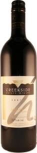 Creekside Laura's Red 2007, Queenston Road Vineyard, VQA St. David's Bench, Niagara Peninsula Bottle