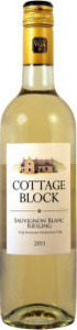 Cottage Block Sauvignon Blanc Riesling 2014, Niagara Peninsula Bottle