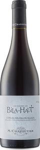 M. Chapoutier Les Vignes De Bila Haut Côtes Du Roussillon Villages 2014, Ac Bottle