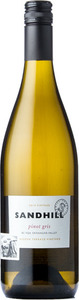 Sandhill Pinot Gris Hidden Terrace Vineyard 2015, BC VQA Okanagan Valley Bottle