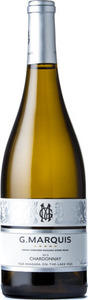 G. Marquis The Silver Line Chardonnay 2014, Single Vineyard Niagara Stone Road, VQA Niagara On The Lake Bottle
